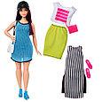 """Barbie """"Игра с модой"""" Кукла Барби - Брюнетка с набором одежды, #38 (Пышная), фото 2"""
