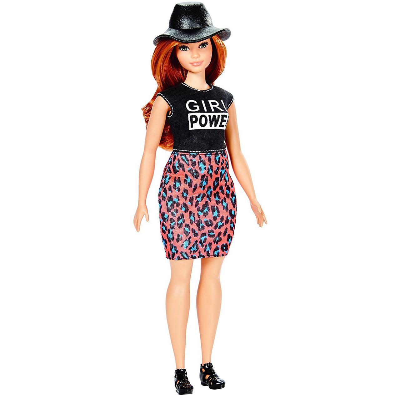 "Barbie ""Игра с модой"" Кукла Барби Lovin' Leopard #64 (Пышная)"