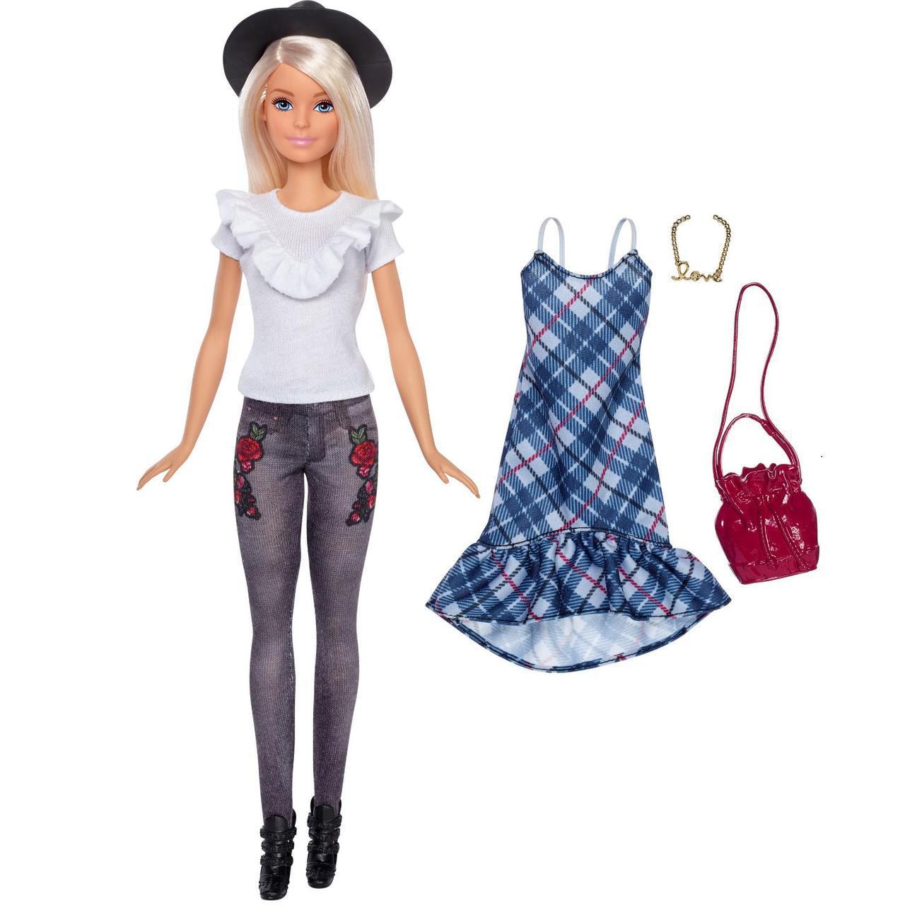 """Barbie """"Игра с модой"""" Кукла Барби Блондинка в шляпе #83"""