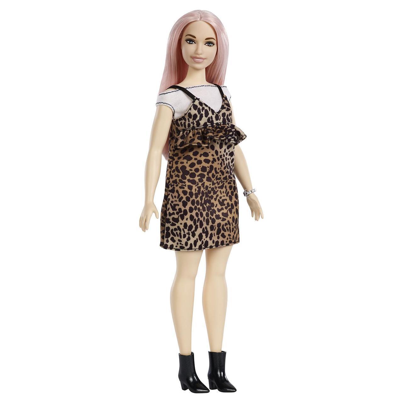 """Barbie """"Игра с модой"""" Кукла Барби в леопардовом #109 (Пышная)"""