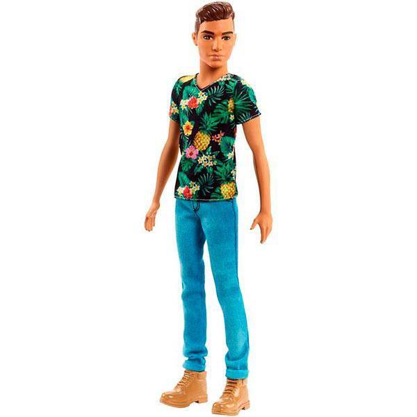 "Barbie ""Игра с модой"" Кукла Кен шатен #15 (Высокий)"