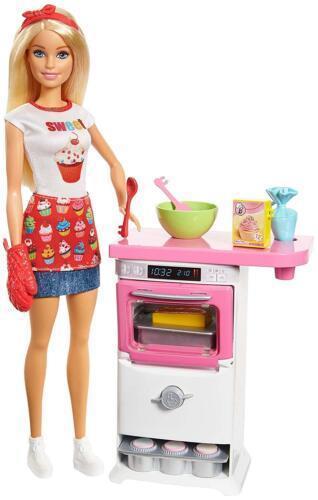 """Barbie """"Кем быть?"""" Кукла Барби - Пекарь"""