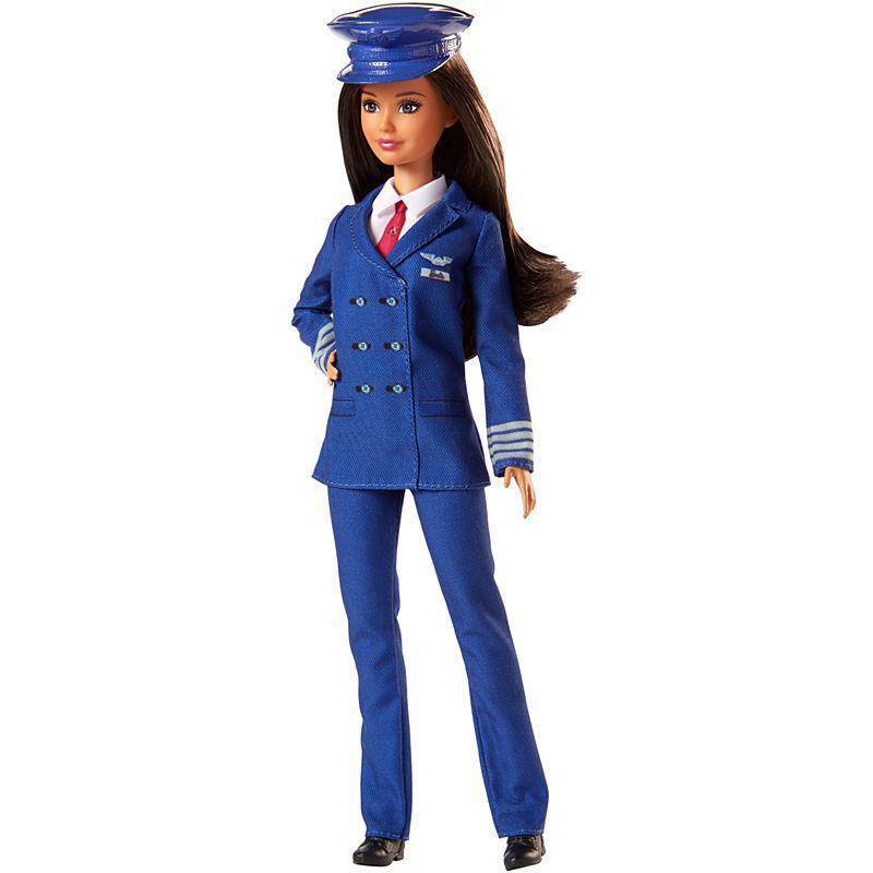 "Barbie ""Кем быть?"" Кукла Барби - Пилот"
