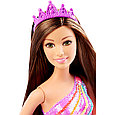 "Barbie ""Королевство радуги"" Кукла Принцесса Барби - шатенка, фото 2"