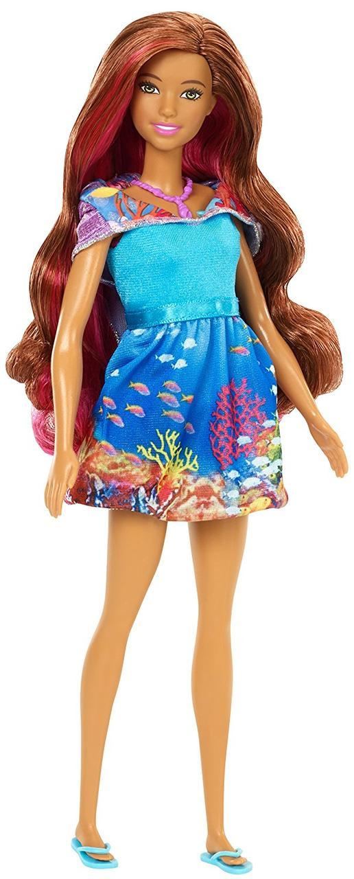 "Barbie ""Морские приключения"" Кукла Барби-русалка, хвост-трансформер"