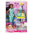 """Barbie """"Профессии"""" Игровой набор """"Кукла Барби - Детский врач"""", афроамериканка, Кем быть?, фото 2"""