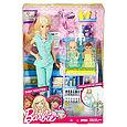 """Barbie """"Профессии"""" Игровой набор """"Кукла Барби - Детский врач"""", Кем быть?, фото 2"""