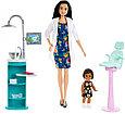"""Barbie """"Профессии"""" Игровой набор """"Кукла Барби Азиатка - Стоматолог"""", Кем быть?, фото 2"""