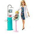 """Barbie """"Профессии"""" Игровой набор """"Кукла Барби Блондинка - Стоматолог"""", Кем быть?, фото 2"""