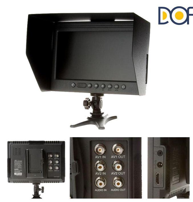 ЖК Монитор  F-01 /HDMI,SDI/  Аккумулятор и зарядное уст.