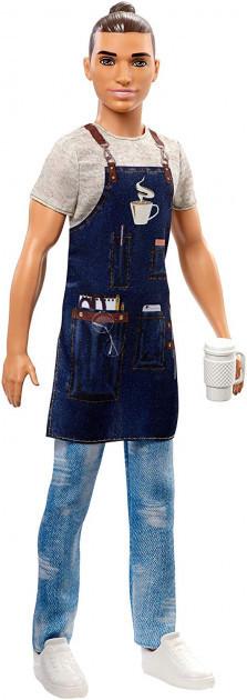 """Barbie """"Профессии"""" Кукла Кен - бариста, Кем быть?"""