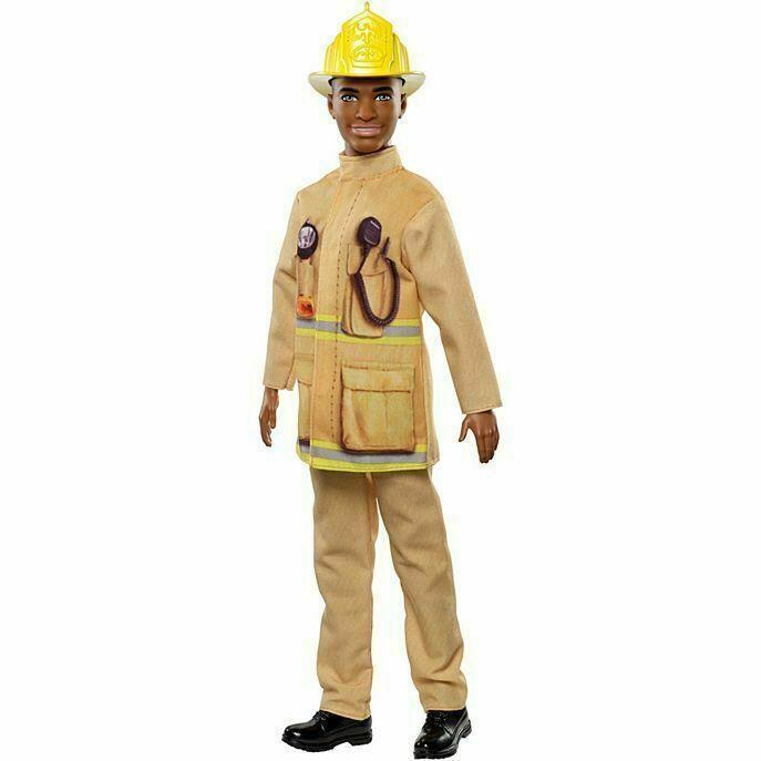 """Barbie """"Профессии"""" Кукла Кен - Пожарный, Кем быть?"""
