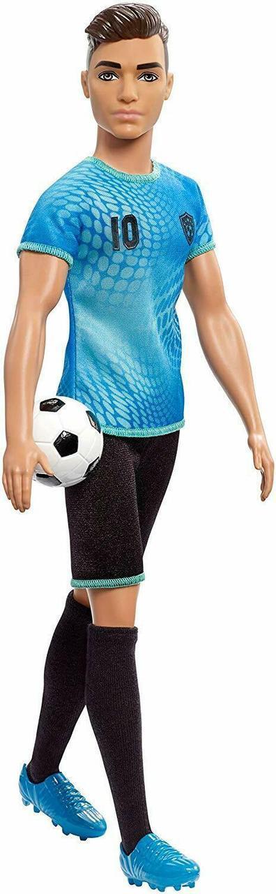"""Barbie """"Профессии"""" Кукла Кен - футболист (высокий), Кем быть?"""