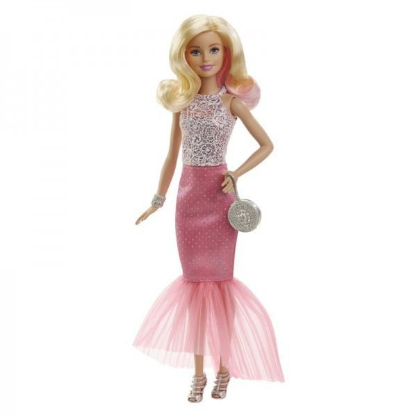 """Barbie """"Розовая изысканность"""" Кукла Барби Блондинка в вечернем платье"""