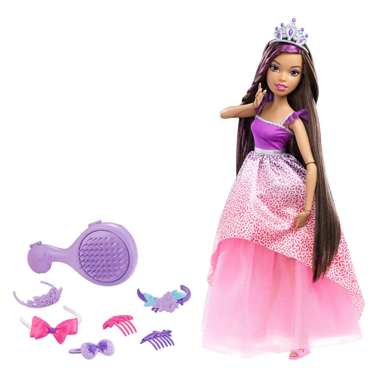 """Barbie """"Роскошные волосы"""" Кукла Барби Брюнетка, 43 см."""