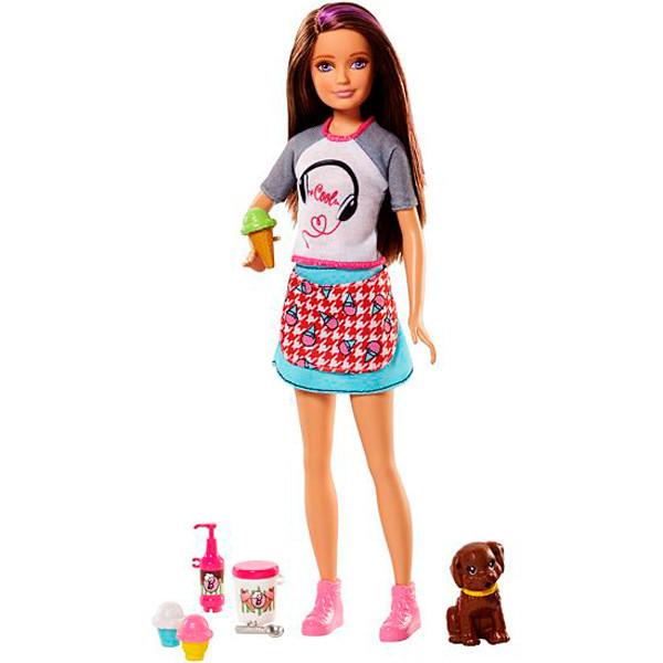 """Barbie """"Сестры и щенки"""" Вкусные развлечения Скиппер"""