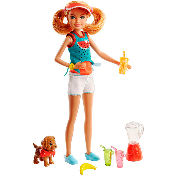 """Barbie """"Сестры и щенки"""" Вкусные развлечения Стейси"""