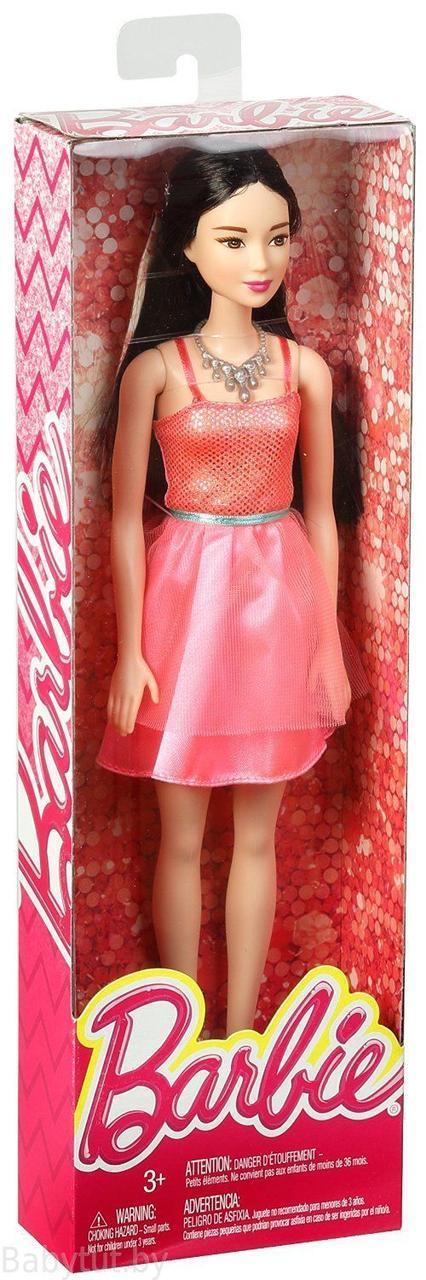 """Barbie """"Сияние моды"""" Кукла Барби - Азиатка в розовом платье"""