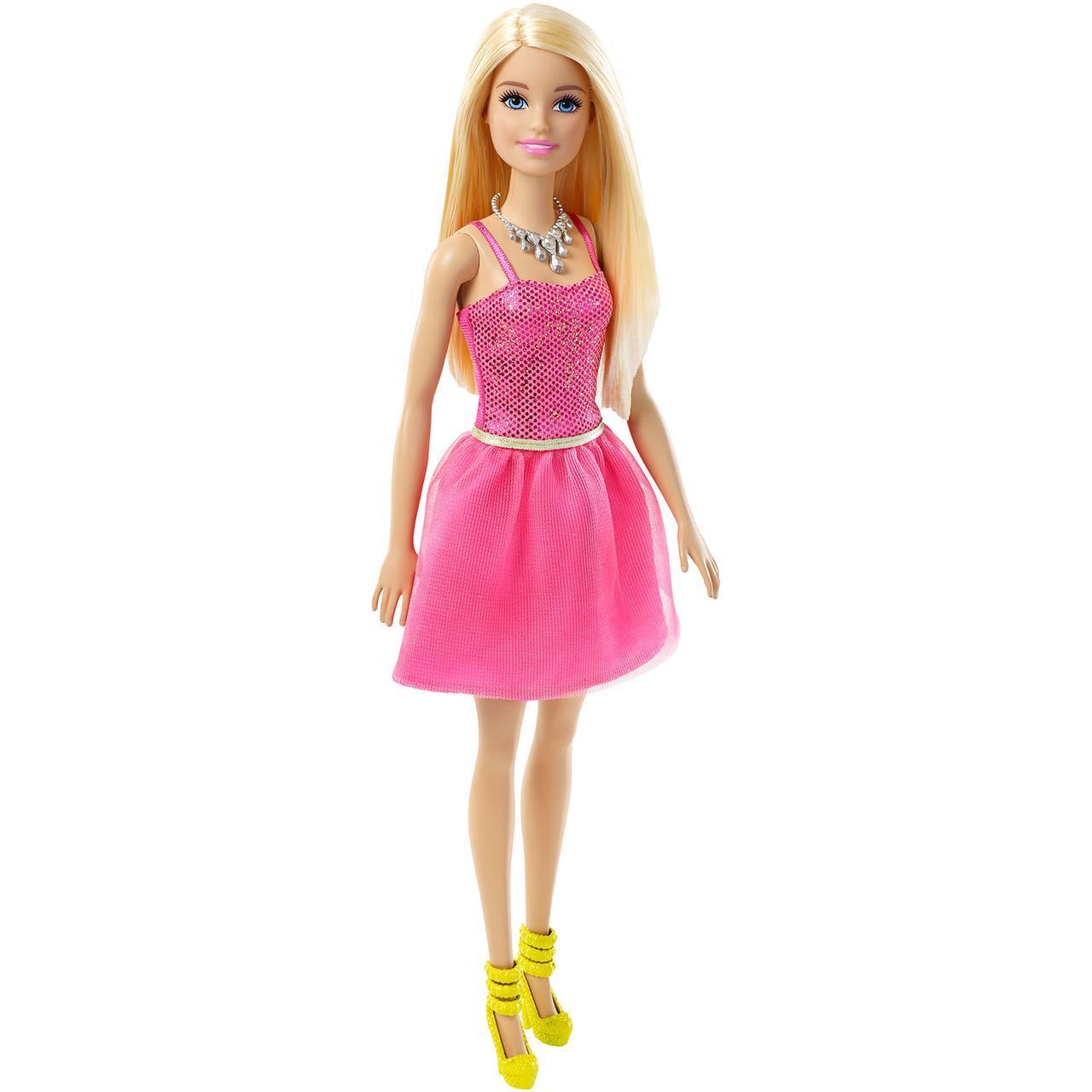 """Barbie """"Сияние моды"""" Кукла Барби - Блондинка в розовом платье"""