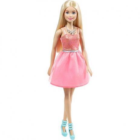 """Barbie """"Сияние моды"""" Кукла Барби - в розовом платье"""