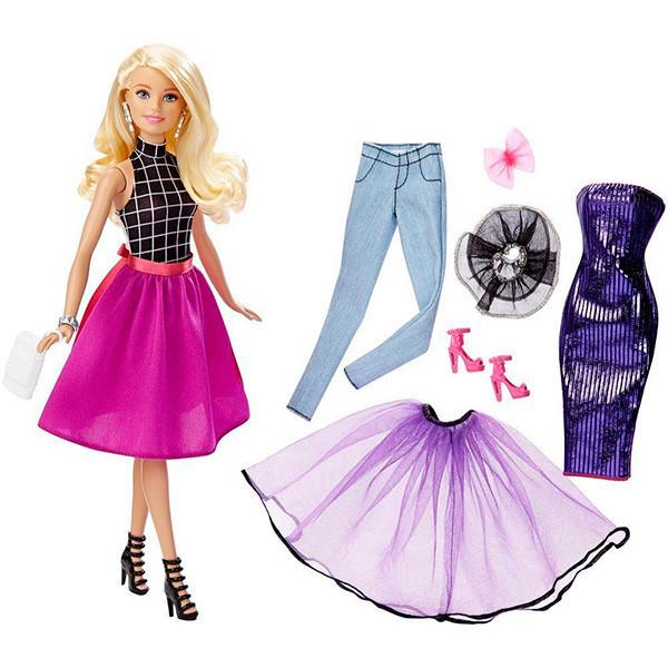 "Barbie ""Сочетай и наряжай"" Кукла Барби Блондинка"