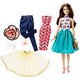 "Barbie ""Сочетай и наряжай"" Кукла Барби Шатенка, фото 2"
