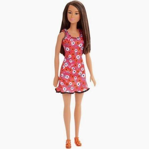 """Barbie """"Стиль"""" Кукла Барби Азиатка в розовом платье"""