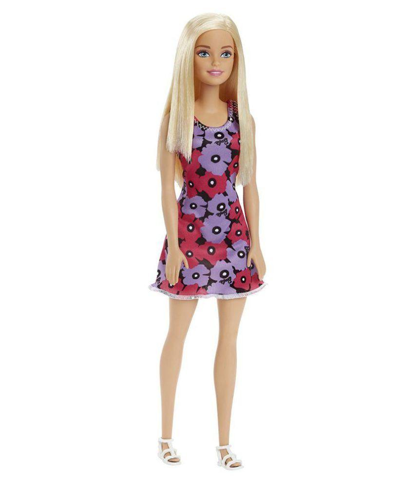 """Barbie """"Стиль"""" Кукла Барби Блондинка в цветочном платье"""