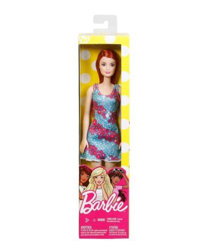 """Barbie """"Стиль"""" Кукла Барби Рыжая в голубом платье"""