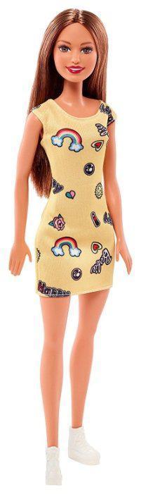 """Barbie """"Стиль"""" Кукла Барби Шатенка в желтом платье"""