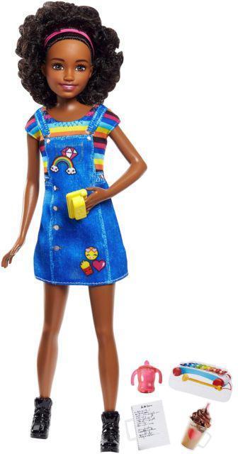 """Barbie """"Скиппер, Нянечки"""" Куколка Барби-Подросток, Афро"""