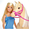 """Barbie Игровой набор """"Барби и лошадь"""", фото 3"""