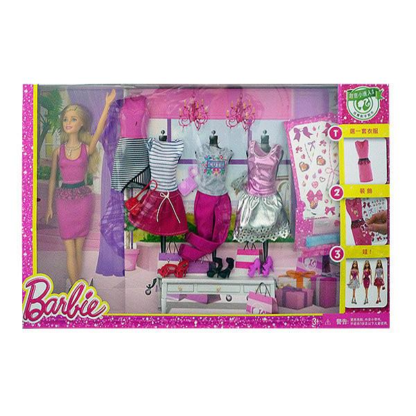 """Barbie Игровой Набор """"Гардероб Барби"""""""