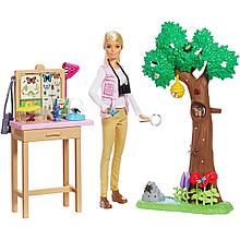 "Barbie Игровой набор ""Кукла Барби - Энтомолог"""