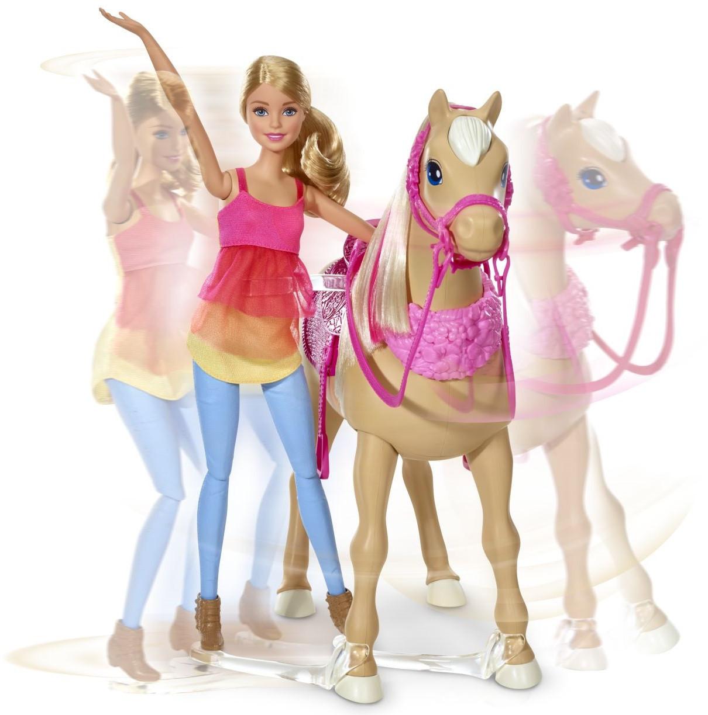 """Barbie Игровой набор """"Кукла Барби и танцующая лошадка"""" (звук)"""