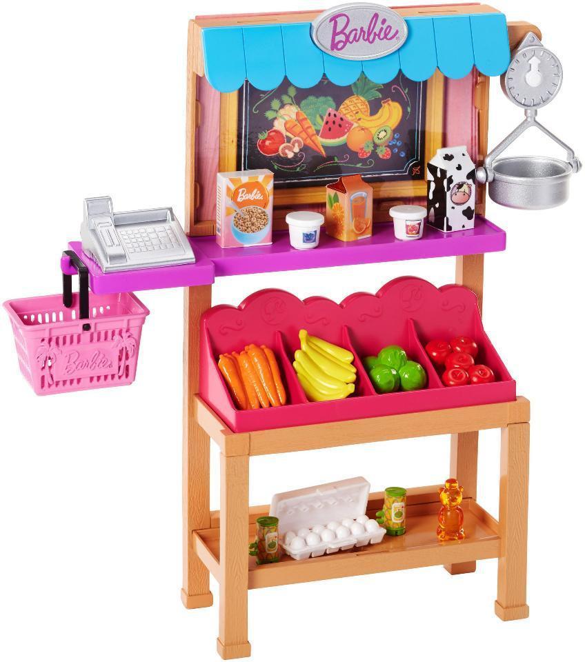 """Barbie Игровой набор """"Продуктовый магазин"""", Барби"""