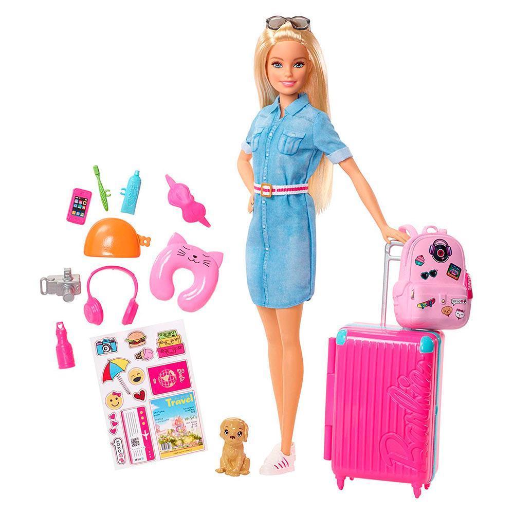 """Barbie Игровой набор """"Путешествие Барби"""", Барби"""