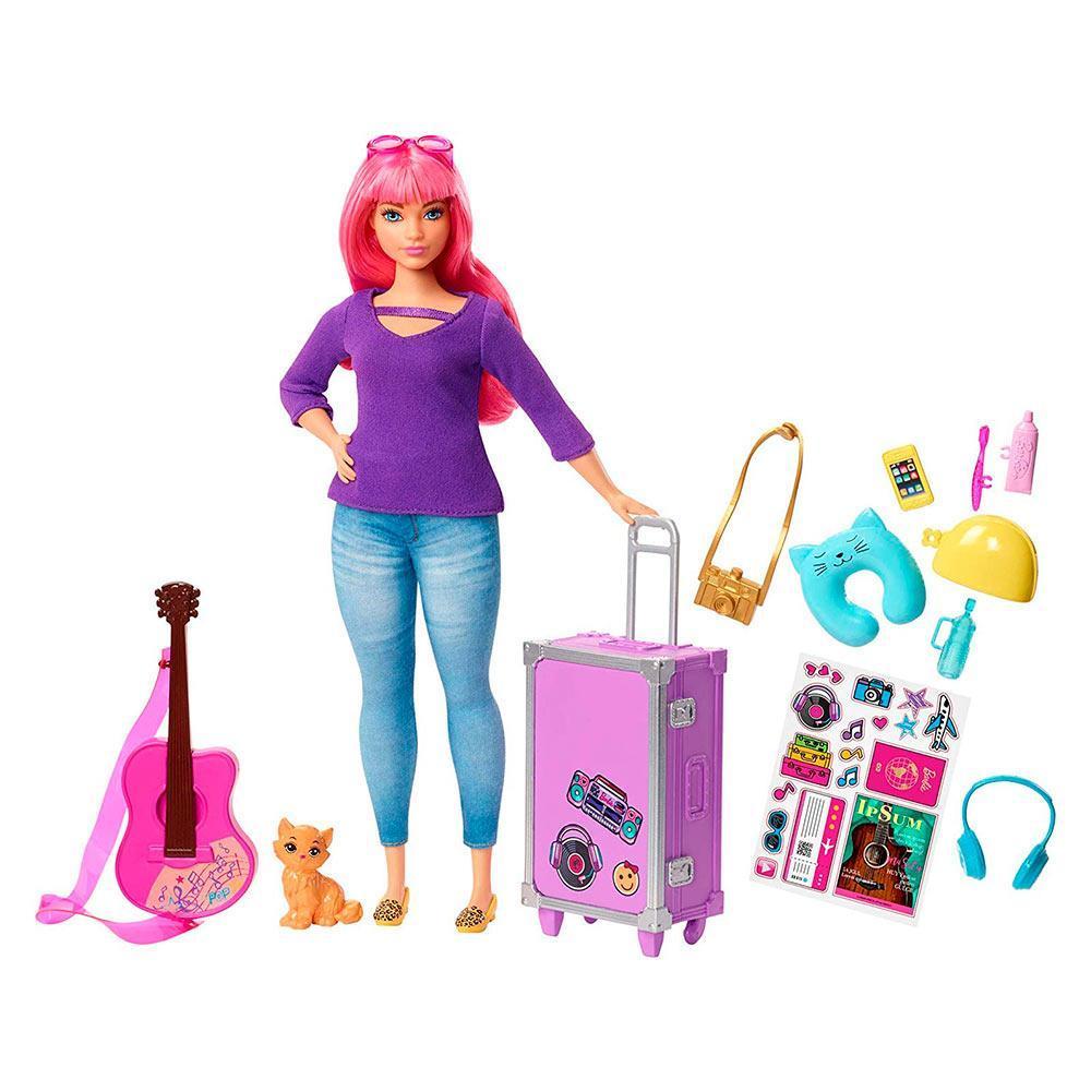 """Barbie Игровой набор """"Путешествие Дейзи"""" (пышная), Барби"""