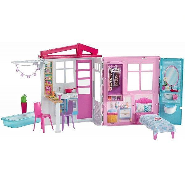 """Barbie Игровой набор """"Раскладной домик"""", Барби"""