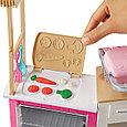 """Barbie Игровой набор """"Супер кухня с куклой"""", Барби, фото 4"""