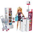 """Barbie Игровой набор """"Супермаркет"""" с куколкой Барби, фото 2"""
