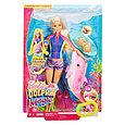 """Barbie Игровой набор Барби """"Морские приключения"""" - Кукла с дельфином (звук) , фото 2"""