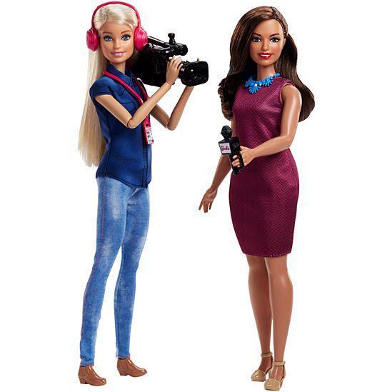 """Barbie Игровой набор кукол Барби """"Команда TV новостей"""""""