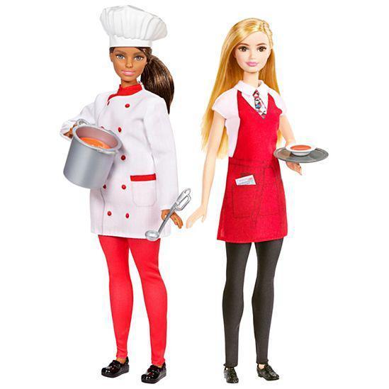 """Barbie Игровой набор кукол Барби """"Шеф - повар и официантка"""""""