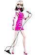 Barbie Коллекционная кукла Debbie Harey, Барби, фото 2