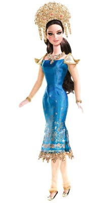 "Barbie Коллекционная кукла Барби ""Куклы Мира"", Индонезия"
