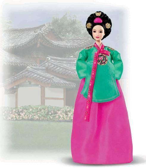 "Barbie Коллекционная кукла Барби ""Куклы Мира"", Принцесса Кореи"