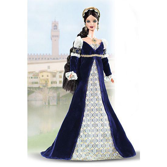 """Barbie Коллекционная кукла Барби """"Куклы Мира"""", Принцесса Ренессанса"""