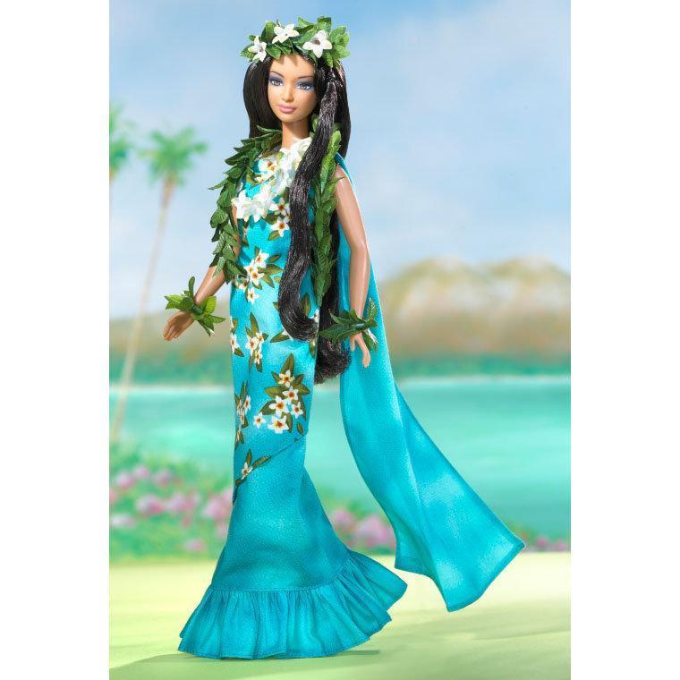 """Barbie Коллекционная кукла Барби """"Куклы Мира"""", Принцесса Тихоокеанских островов"""