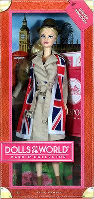 """Barbie Коллекционная кукла Барби """"Куклы Мира"""", Соединенное Королевство"""